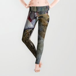 Mouse and Moth Cotillion Leggings