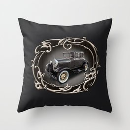 Ford Model A (Frame) Throw Pillow