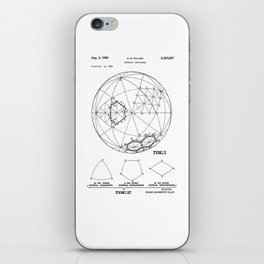 Buckminster Fuller 1961 Geodesic Structures Patent iPhone Skin