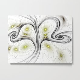 Surreal abstract fractal Metal Print