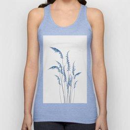 Blue flowers 2 Unisex Tank Top