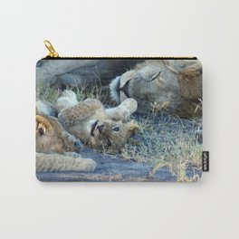 Playful Lion Cub Carry-All Pouch