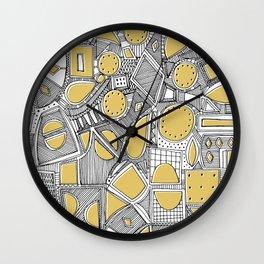 RAZZ BW STRAW Wall Clock