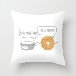 You Are My Everything Throw Pillow