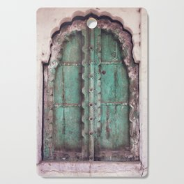 Doors Of Rajasthan Cutting Board