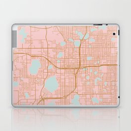 Orlando map, Florida Laptop & iPad Skin