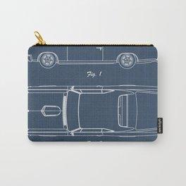 Pontiac GTO patent print. Pontiac GTO blueprint poster Carry-All Pouch