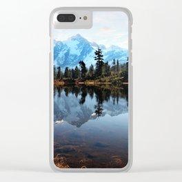 Mt Shuksan Clear iPhone Case