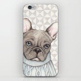 French style - French Bulldog iPhone Skin