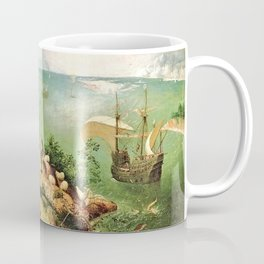 Landscape With The Fall Of Icarus Painting Pieter Bruegel The Elder Coffee Mug