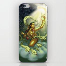 Coatlicue: Prelude to a Prehispanic Dawn iPhone Skin