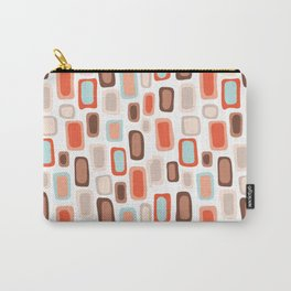 Retro Rectangles Carry-All Pouch