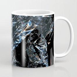 Clear Crumpled Plastic Coffee Mug
