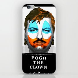 Pogo the Clown iPhone Skin
