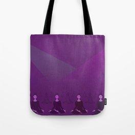 Disco Meditation Tote Bag