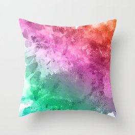 infusions Throw Pillow