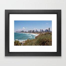 Tel-Aviv Framed Art Print