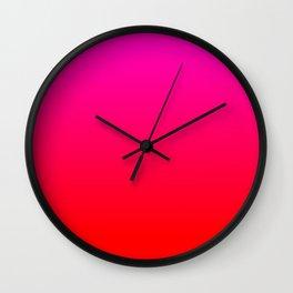 Love Ombre Wall Clock