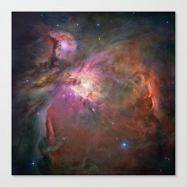 Orion Nebula M42, NGC 19 (High Quality) Canvas Print