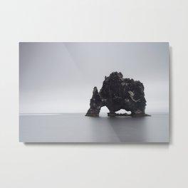 Sea stack Metal Print