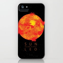 Leo - Ruling Planet Sun iPhone Case
