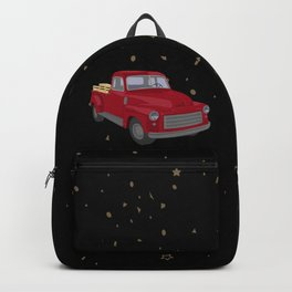 Red Truck Backpack