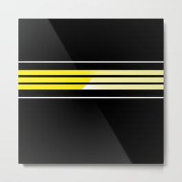 Team Colors 5 ...Yellow Metal Print