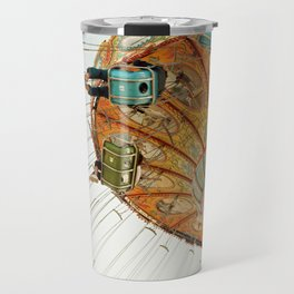 santa cruz.  Travel Mug