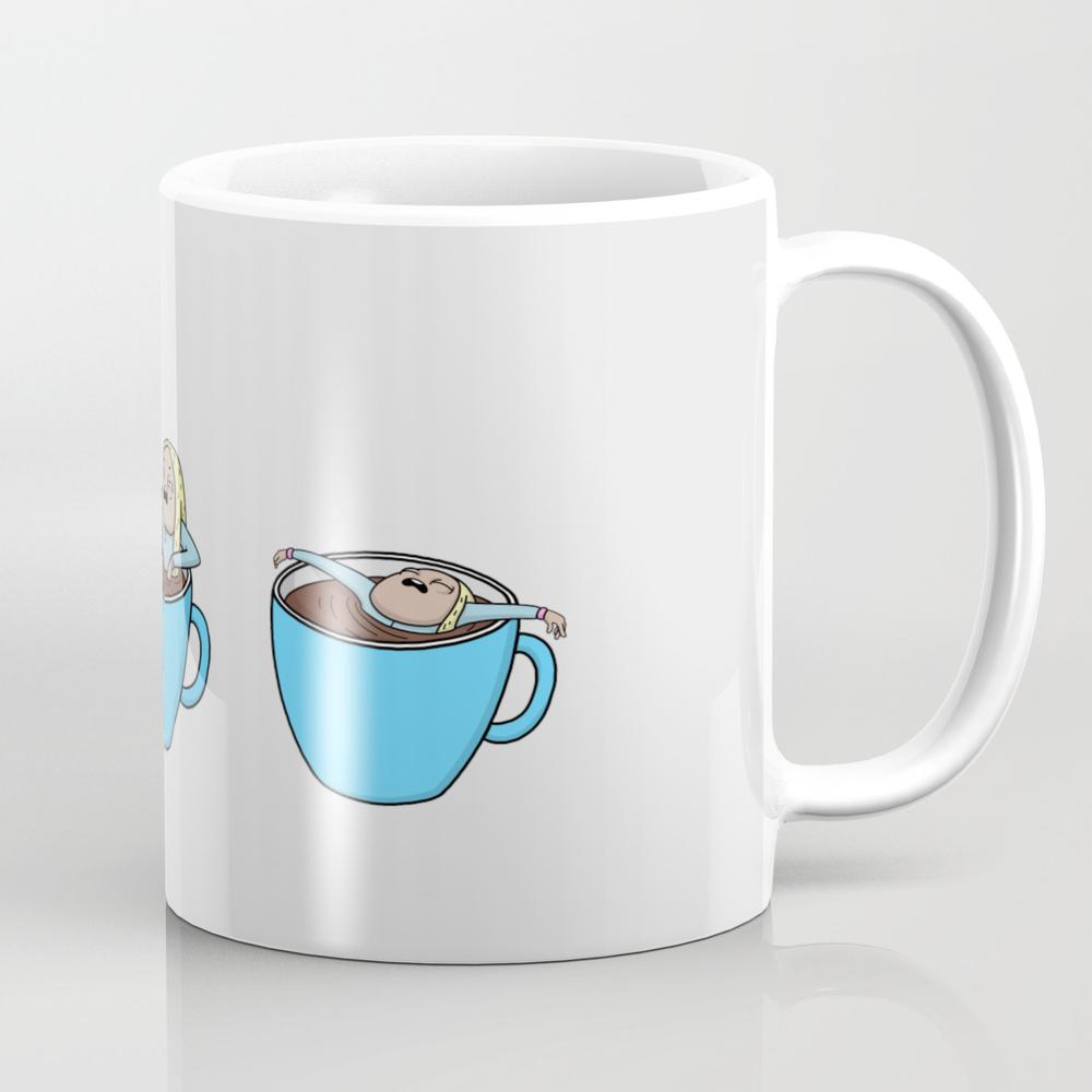Cup Of Coffee Mug by Comicada MUG8993108