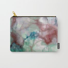 Colorful watercolor marble Carry-All Pouch