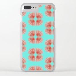 Shell Tie Dye Clear iPhone Case