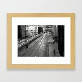 The Streets of London Framed Art Print