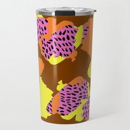 Dotty Brushstrokes - Sarah Bagshaw Travel Mug