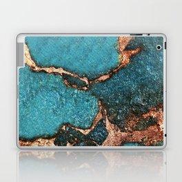 GEMSTONE  & GOLD AQUA Laptop & iPad Skin