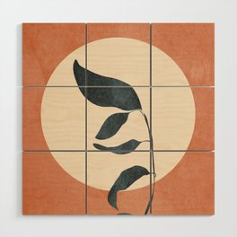 Summer Leaves Wood Wall Art
