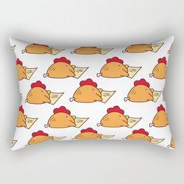 Cutes Fried Chicken pattern Rectangular Pillow