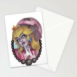 Zombie Peach Stationery Cards