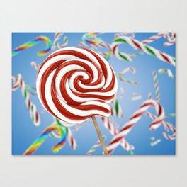 Lollipop candy Canvas Print