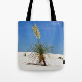 Living In The White Sand Dunes Tote Bag
