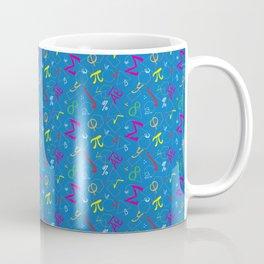 Colorful Math! (Blue) Coffee Mug