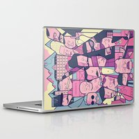 budapest Laptop & iPad Skins featuring Grand Hotel by Ale Giorgini
