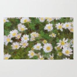Daisies In Spring Rug