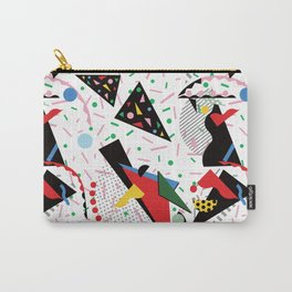 Postmodern Dinner Plates Carry-All Pouch