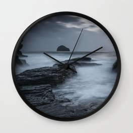 Sunset in Cornwall III Wall Clock