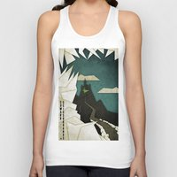 edward scissorhands Tank Tops featuring Edward Scissorhands by Fontolia (Katie Blaker)