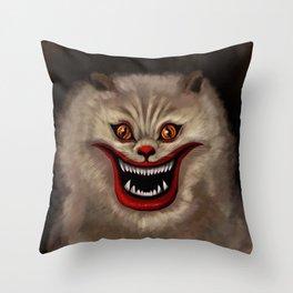 Hausu Cat Throw Pillow