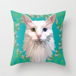 Odd-Eyed Throw Pillow