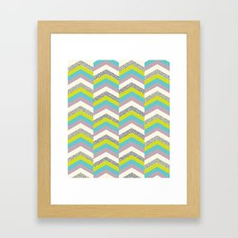 Ups & Downs. Framed Art Print