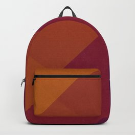 Square Abstract Gradient Art Backpack