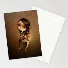 Gold Cage Stationery Cards